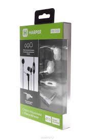 Гарнитура HARPER HV-102 white Проводные / Внутриканальные с микрофоном / Белый / 13 Гц - 20,5 кГц / 110 дБ / Двухстороннее / Mini-jack / 3.5 мм гарнитура philips shl5005wt 00 проводные накладные с микрофоном белый 9 гц 24 кгц 104 дб двухстороннее mini jack 3 5 мм