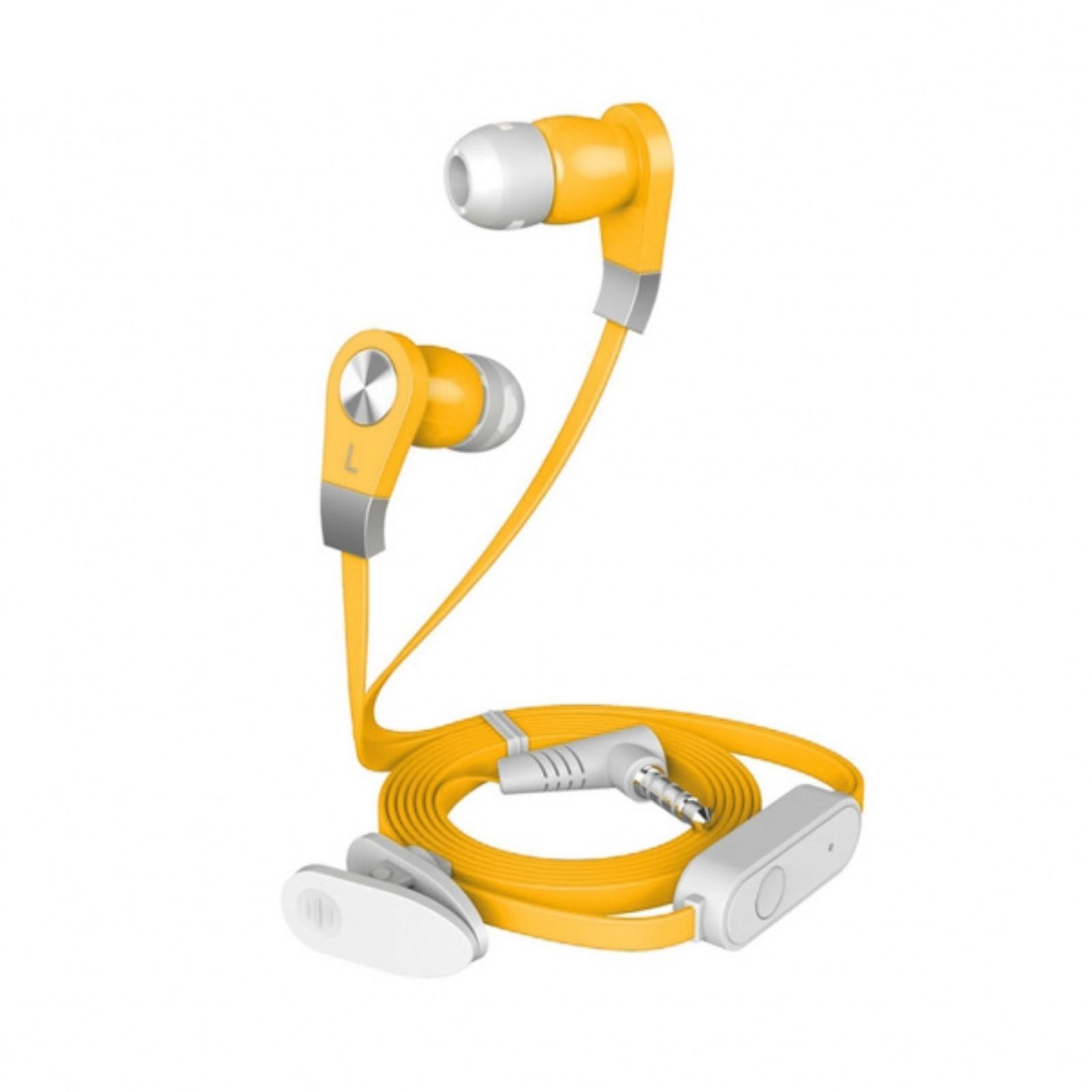 все цены на Гарнитура HARPER HV-103 yellow Проводные / Внутриканальные с микрофоном / Желтый / 13 Гц - 20,5 кГц / 110 дБ / Двухстороннее / Mini-jack / 3.5 мм онлайн