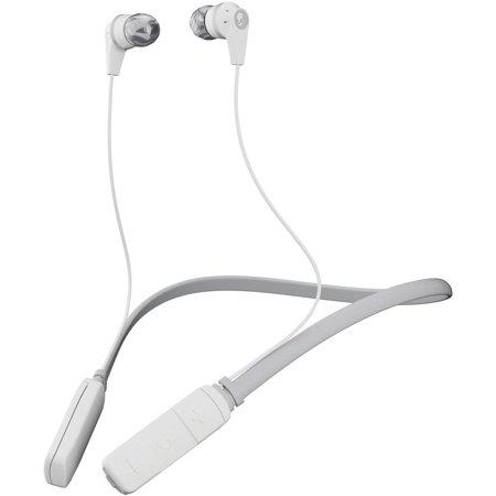 Наушники (гарнитура) Skullcandy INK'D 2.0 Wireless White Grey Беспроводная / Внутриканальные с микрофоном / Белый-серый / 20 Гц - 20 кГц / до 7 ч / Bluetooth наушники с микрофоном tesoro kuven 7 1 devil