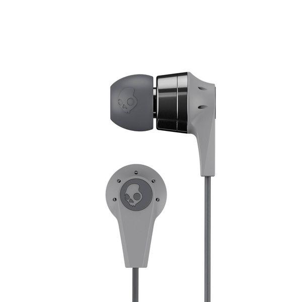 Наушники (гарнитура) Skullcandy INK'D 2.0 Wireless Grey Беспроводная / Внутриканальные с микрофоном / Cерый / 20 Гц - 20 кГц / до 7 ч / Bluetooth наушники с микрофоном tesoro kuven 7 1 devil