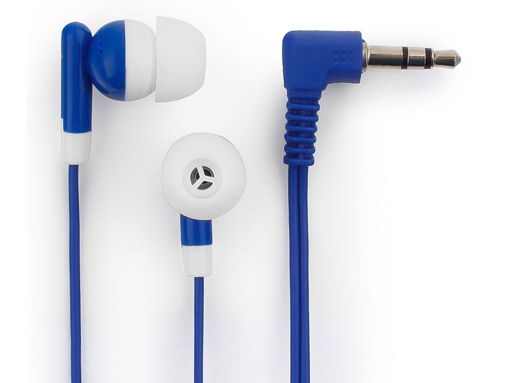 Наушники Гарнизон GE-120B Blue Проводные / Внутриканальные / Голубой / 18 Гц - 20 кГц / 116 дБ / Двухстороннее / Mini-jack / 3.5 мм наушники гарнизон ge 100 белый черный