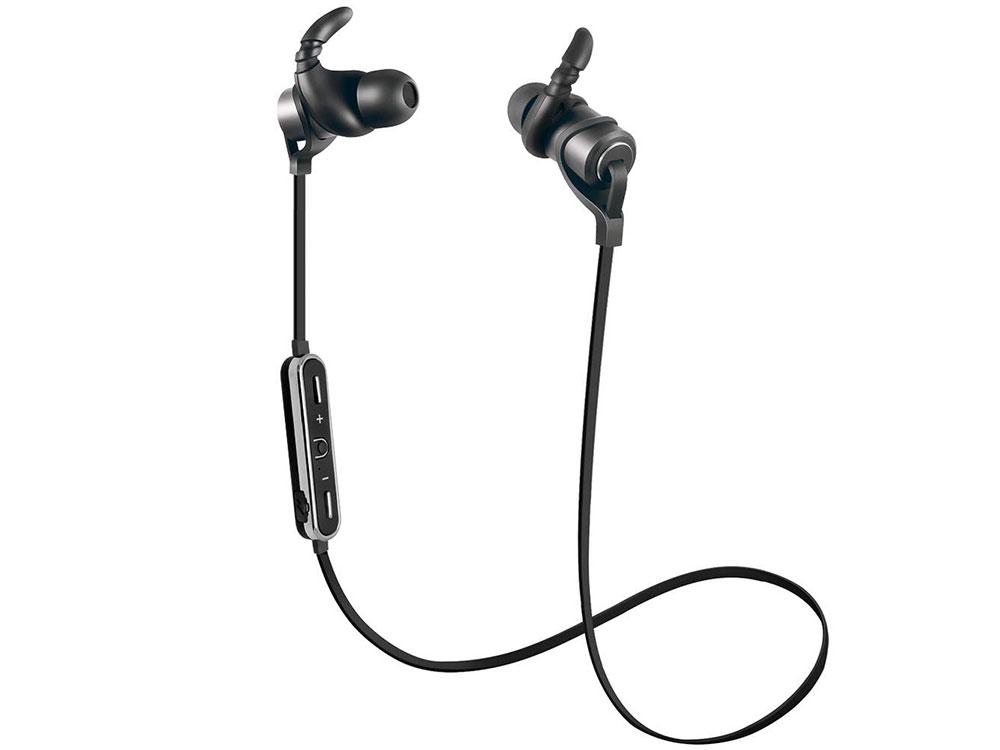 Наушники беспроводные GiNZZU GM-251BT Black Беспроводные / Внутриканальные с микрофоном / Черный / 20 Гц - 20 кГц / 115 дБ / до 4 ч / Bluetooth наушники беспроводные с микрофоном sbs teearsetbt500k black