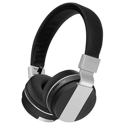 Наушники беспроводные GiNZZU GM-351BT Беспроводные, проводные / Накладные с микрофоном / Черный / 20 Гц - 20 кГц / 110 дБ / Одностороннее / Bluetooth, Mini-jack / 3.5 наушники philips shb3075bk 00 черный беспроводные полноразмерные с микрофоном черный 9 гц 21 кгц 103 дб до 12ч bluetooth micro usb