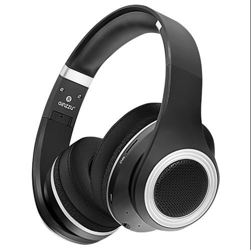 Наушники беспроводные GiNZZU GM-651BT Беспроводные, проводные / Накладные с микрофоном / Черный / 20 Гц - 20 кГц / 110 дБ / Одностороннее / Bluetooth, Mini-jack / 3.5 беспроводные наушники monster isport freedom wireless bluetooth on ear green