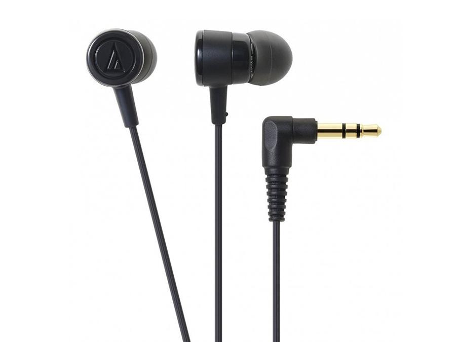 Наушники Audio-Technica ATH-CKL220 BK Проводные / Внутриканальные / Черный / 20 Гц - 23 кГц / 100 дБ / Двухстороннее / Mini-jack / 3.5 мм внутриканальные наушники fischer audio omega twin black