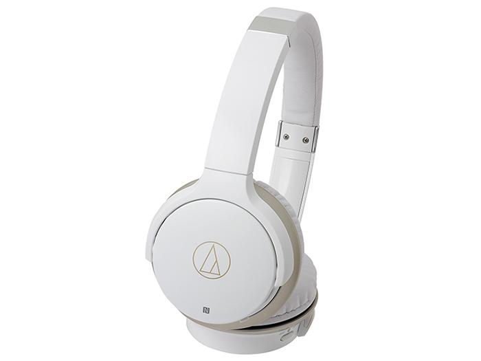 Наушники AUDIO-TECHNICA ATH-AR3BTWH Беспроводные / Накладные / Белый / 5 Гц - 35 кГц / 97 дБ / Mini-jack 3.5 мм / Bluetooth aux wireless bluetooth audio receiver adapter with car charger