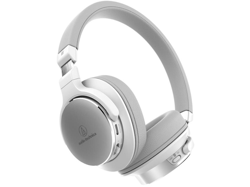 Наушники AUDIO-TECHNICA ATH-SR5BT WH Беспроводные / Накладные / Белый / 5 Гц - 40 кГц / 103 дБ / Mini-jack 3.5 мм / Bluetooth наушники philips shb3075wt 00 bluetooth белый беспроводные полноразмерные с микрофоном белый 9 гц 21 кгц 103 дб до 12ч bluetooth
