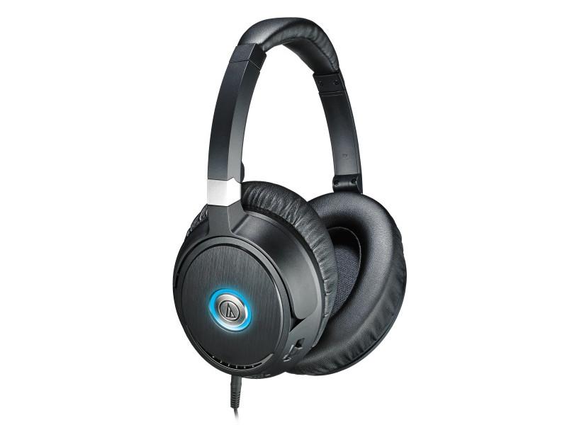 Наушники AUDIO-TECHNICA ATH-ANC70 BK Беспроводные / Полноразмерные / Черный / 10 Гц - 25 кГц / 104 дБ / Mini-jack 3.5 мм / Bluetooth беспроводные наушники audio technica ath sport50bt blue