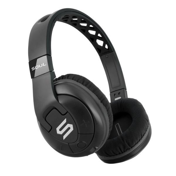Гарнитура SOUL X-Tra Black Беспроводные, проводные / Накладные с микрофоном / Черный / 20 Гц - 20 кГц / Одностороннее / до 24 ч / Bluetooth, Mini-jack / 3.5 мм накладные ресницы x tra length
