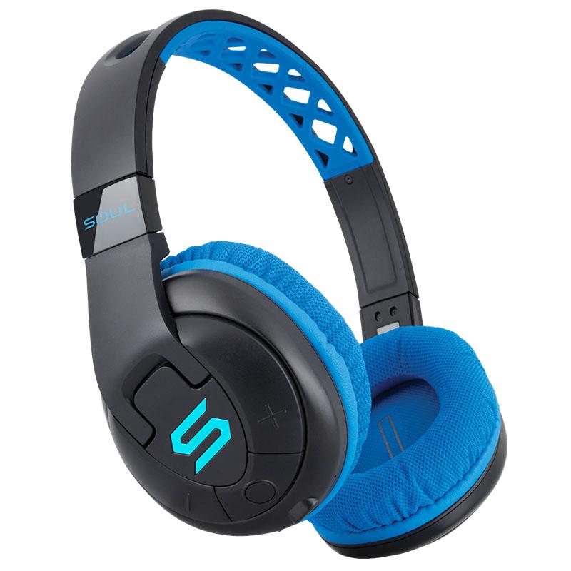 Гарнитура SOUL X-Tra Blue Беспроводные, проводные / Накладные с микрофоном / Синий / 20 Гц - 20 кГц / Одностороннее / до 24 ч / Bluetooth, Mini-jack / 3.5 мм накладные ресницы x tra length