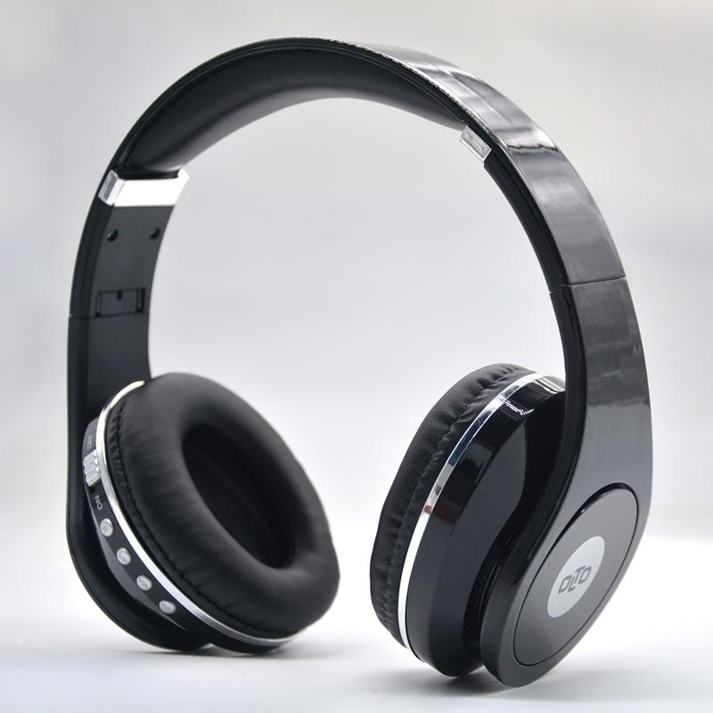 купить Наушники(гарнитура) OLTO HBO-155 black Беспроводные, проводные / Накладные с микрофоном / Черный / 20 Гц - 20 кГц / Одностороннее / до 5 ч / Bluetooth, Mini-jack / 3.5 мм онлайн