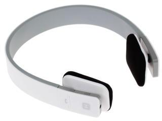 Наушники(гарнитура) HARPER HB-207 white Беспроводные, проводные / Накладные с микрофоном / белый / 20 Гц - 20 кГц / Одностороннее / Bluetooth / miniJack беспроводные автомобильные bluetooth стерео наушники avs001bt