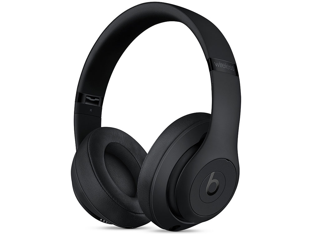 Наушники Apple Beats Studio3 Wireless MQ562EE/A Беспроводные / Накладные / Черный / Одностороннее / Mini-jack 3.5 мм / Bluetooth s530 mini wireless bluetooth earbuds invisible earphone