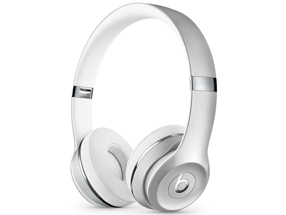 Наушники (гарнитура) Beats Solo3 1.36м Silver Беспроводные, проводные / Полноразмерные с микрофоном / Серебристый / 20 Гц - 31 кГц / 110 дБ / Одностороннее / B беспроводные наушники b