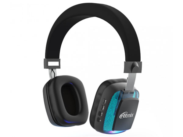 Наушники Ritmix RH-485BTH Black (bluetooth) ritmix rh 180m black наушники