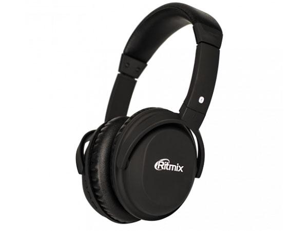 Наушники Ritmix RH-499BTH Black (bluetooth) ritmix rh 180m black наушники