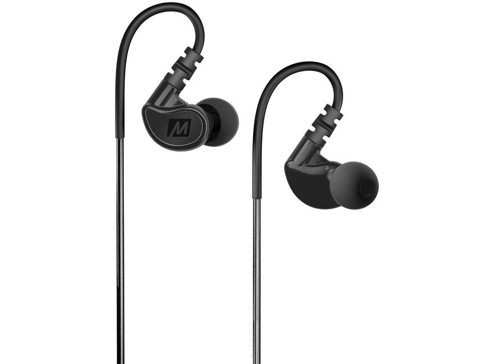 Наушники MEE Audio M6 2 Black (M6G2-BK) Black Проводные / Внутриканальные / Черный / 20 Гц - 20 кГц / 98 дБ / Двухстороннее / Mini-jack / 3.5 мм наушники bbk ep 1190s синий проводные внутриканальные синий 20 гц 22 кгц 98 дб двухстороннее mini jack 3 5 мм
