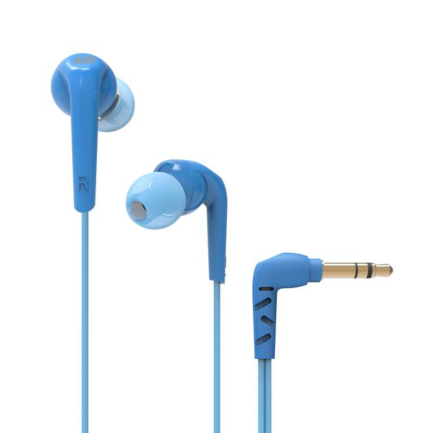 Наушники (гарнитура) MEE audio RX18P Blue Проводные / Внутриканальные с микрофоном / Синий / 20 Гц - 20 кГц / 98 дБ / Двухстороннее / Mini-jack / 3.5 мм yuxi hot 6 pins mic socket audio jack 3 5mm headphone port for lenovo dell etc notebook audio connector
