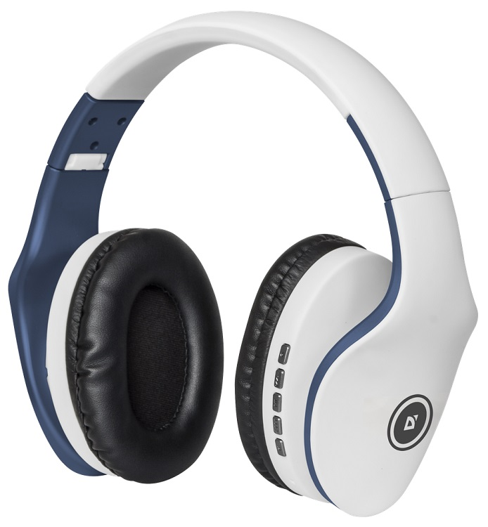 Bluetooth-гарнитура Defender FreeMotion B525 White Blue велотренажер kettler giro s1 7689 150