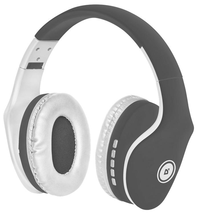 Bluetooth-гарнитура Defender FreeMotion B525 Grey White defender freemotion hn b601 bluetooth наушники с микрофоном