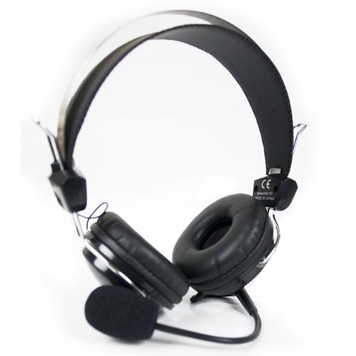 Наушники (гарнитура) A4Tech HS-7P Black a4tech hs 60 black