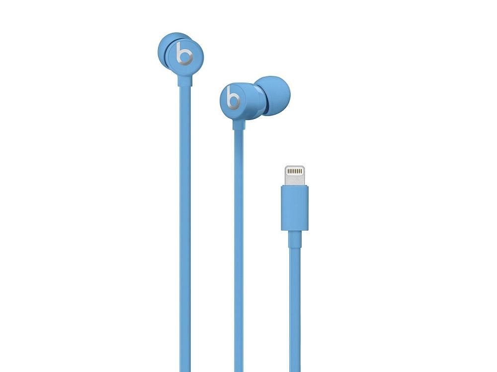 Наушники (гарнитура) Beats Urbeats3 MUHT2EE/A Blue Проводные / Внутриканальные с микрофоном / Голубой / 20 Гц - 20 кГц / 115 дБ / Lightning