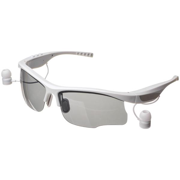 Очки с гарнитурой HARPER HB-600 white Беспроводные / Внутриканальные с микрофоном / Белый / 20 Гц - 20 кГц / 112 дБ / до 8 ч / Bluetooth harper hb 500 black спортивная повязка с bluetooth гарнитурой
