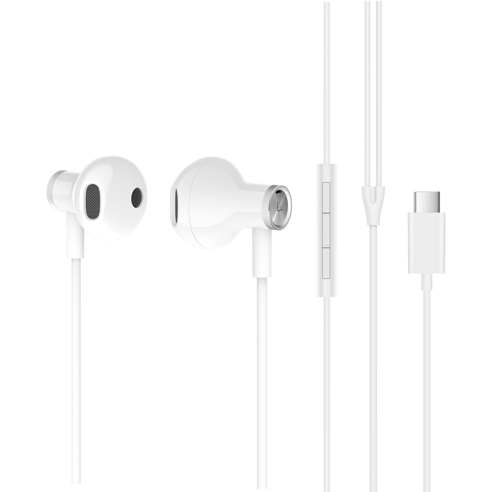 Наушники с микрофоном Xiaomi Mi Dual Driver Earphones (Type-C) (White) cxs l ball bushing bearing pneumatic compressed air cylinder type smc type dual rod basic type rubber bumper sanmin