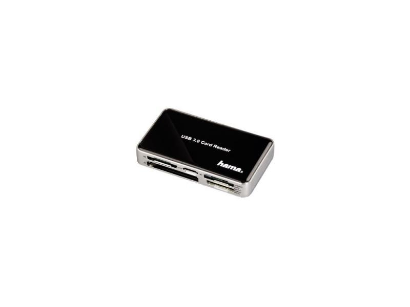 цена на Картридер внешний Hama H-39878 USB3.0 All in One поддерживает UDMA SDXC черный