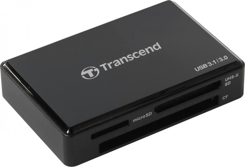 Картридер внешний Transcend TS-RDF9K картридер transcend ts rdf5k usb3 0 sd microsd ts rdf5k