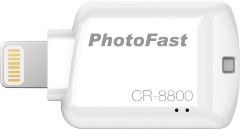 Картридер внешний PhotoFast iOS Card Reader CR-8800 белый от OLDI