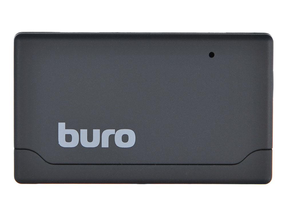 Картридер внешний Buro BU-CR-171 USB2.0 черный картридер внешний buro bu cr hub3 u2 0 0688 черный