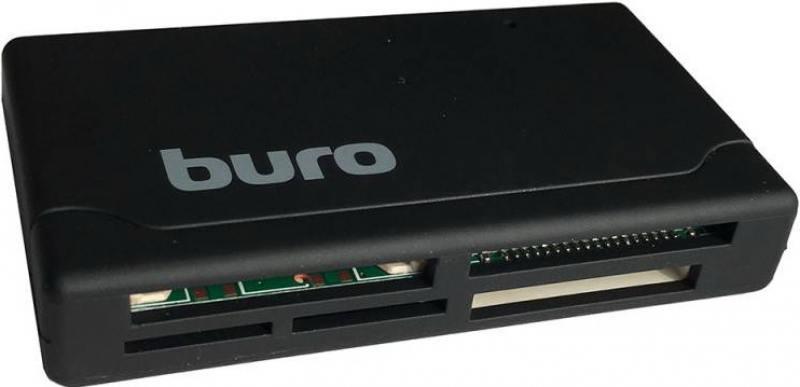 Картридер внешний Buro BU-CR-171 USB2.0 черный