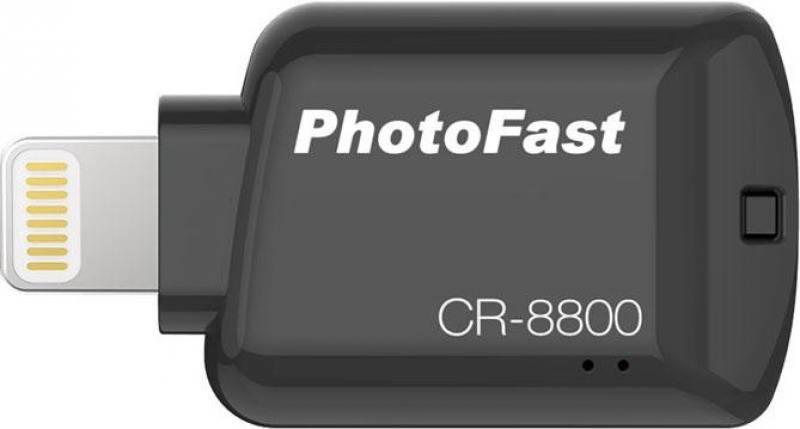 Картридер внешний PhotoFast iOS Card Reader CR-8800 черный от OLDI