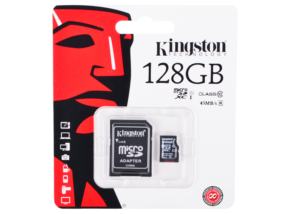 SDC10G2/128GB usb flash накопитель 128gb kingston hyperx hxs3 128gb usb3 1 черный