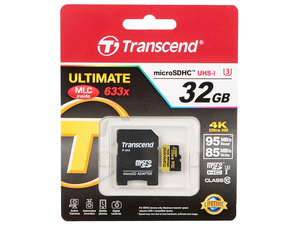 MicroSDHC Transcend 32Gb Class10 (TS32GUSDU3)