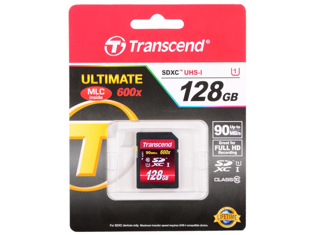 SDXC Transcend 128GB Class10 UHS-I (TS128GSDXC10U1)
