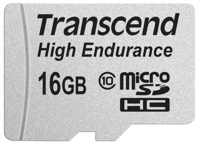 MicroSDHC Transcend 16GB Class10 (TS16GUSDHC10V)