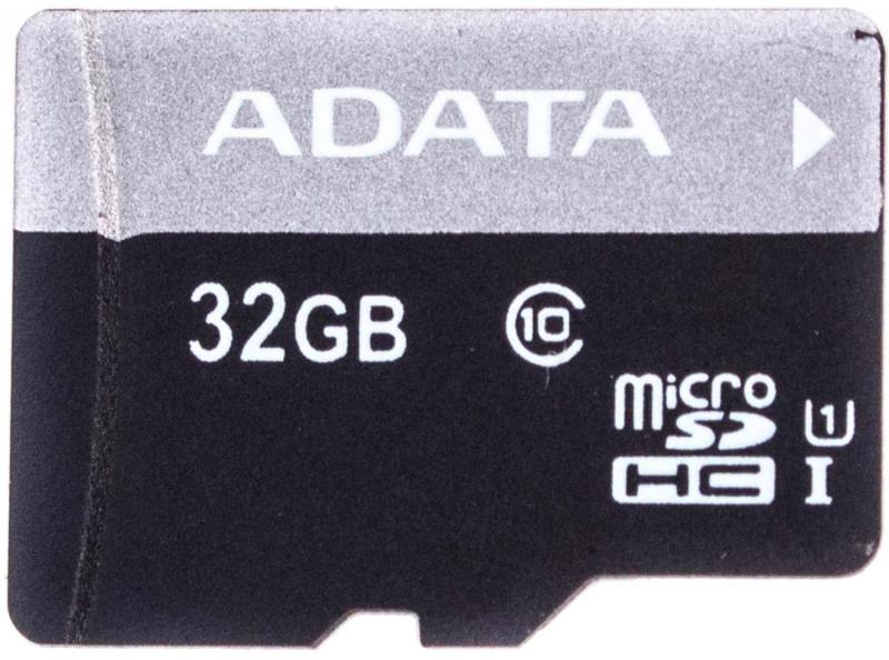Карта памяти Micro SDHC 32Gb Class 10 A-Data UHS-I AUSDH32GUICL10-R