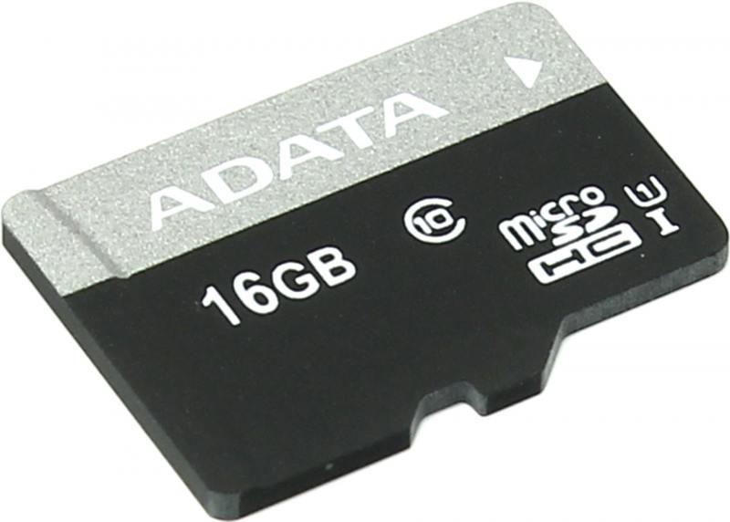 Карта памяти Micro SDHC 16Gb Class 10 A-Data AUSDH16GUICL10-R adata classic c906 16gb white