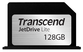 Карта памяти 128GB Transcend JetDrive Lite 330, rMBP 13 12-L13 (TS128GJDL330) флешка usb 128gb transcend jetdrive go 300 ts128gjdg300k черный