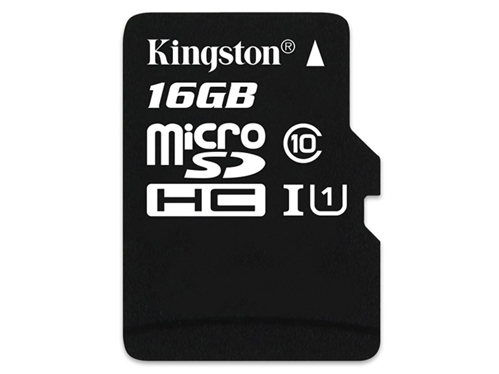 Карта памяти MicroSDHC 16GB Kingston Class 10 U1 UHS-I MLC (SDCIT/16GBSP) silicon power elite microsdhc 16gb uhs i class 10 карта памяти адаптер