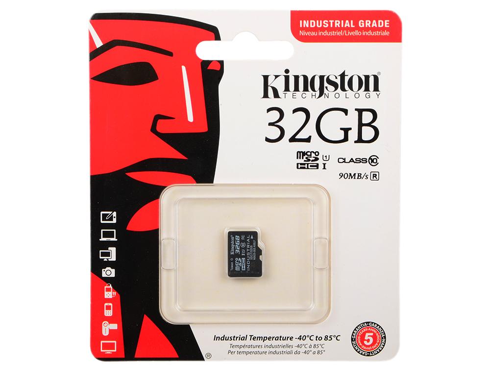 Карта памяти MicroSDHC 32GB Kingston Class 10 U1 UHS-I MLC (SDCIT/32GBSP) карта памяти kingston sdc10 16gbsp