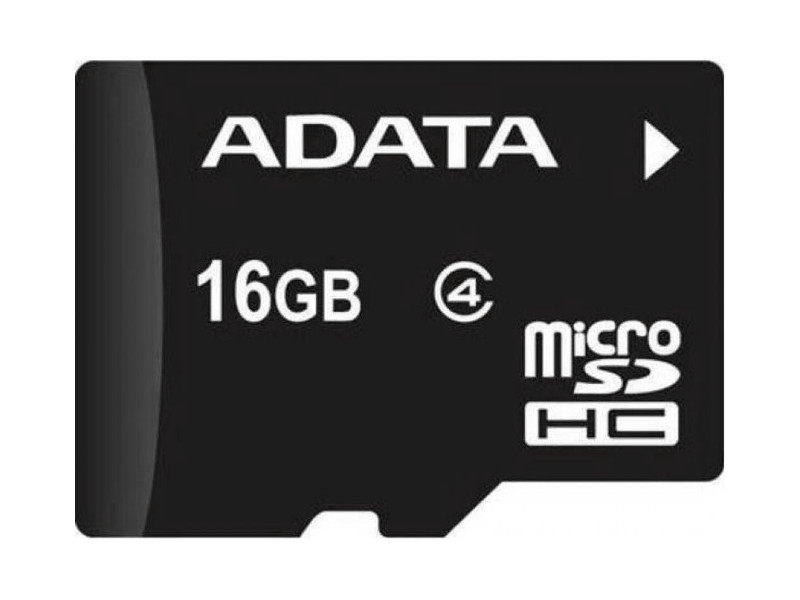 цена на Карта памяти 16GB MicroSDHC Class4 ADATA без адаптера