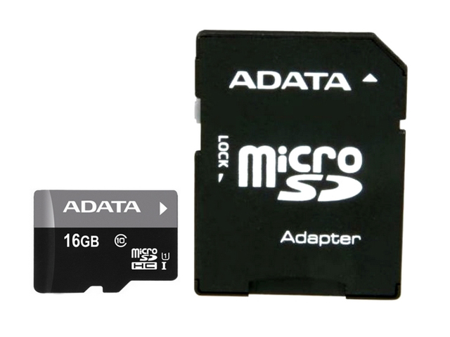 купить Карта памяти 16GB Premier A1 MicroSDHC UHS-I Class 10 ADATA 90/25 MB/s с адаптером недорого