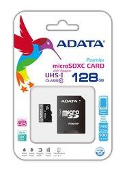 Карта памяти 128GB ADATA Premier A1 MicroSDHC UHS-I Class 10 90/25 MB/s adata premier sdxc sdhc uhs i class10 32gb memory card blue