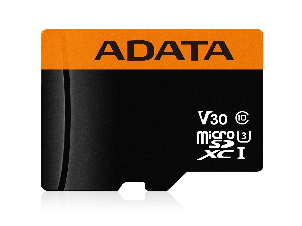 Карта памяти 32GB ADATA Premier Pro microSDXC/SDHC UHS-I U3 Class 10(V30G) 95 / 90 (MB/s) adata s805 32gb gray