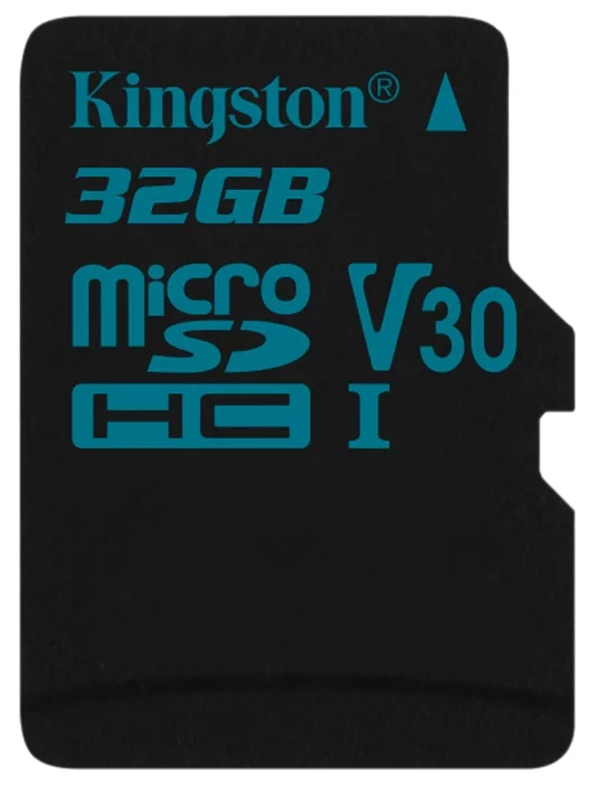 Карта памяти microSDHC 32Gb Class10 Kingston SDCG2/32GBSP Canvas Go w/o adapter аксессуар abus steel o chain 880 110
