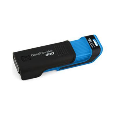 Внешний накопитель 32GB USB Drive Kingston DT200 (DT200/32GB) USB 2.0 внешний накопитель 32gb usb drive