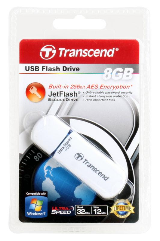 USB флешка 8GB USB Drive (USB 2.0) Transcend 620 (TS8GJF620) usb флешка transcend 620 16gb ts16gjf620